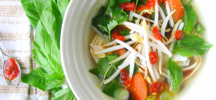 Pho'nomenal Chicken Soup
